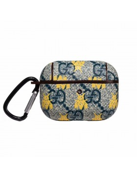 Gucci AirPods Pro Case Classic X Bee Skin Protective Cover Blue