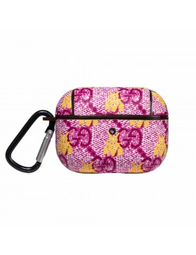 Gucci AirPods Pro Case Classic X Bee Skin Protective Cover Magenta
