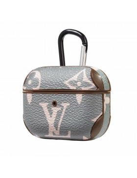 Louis Vuitton AirPods Pro Case Skin Charging Protective Cover Monogram Gray