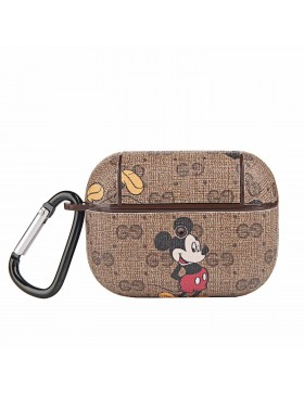 Gucci X Disney AirPods Pro & Air Pods Case Protective Cover Brown