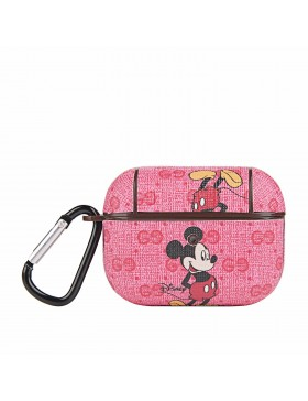Gucci X Disney AirPods Pro & Air Pods Case Protective Cover Pink