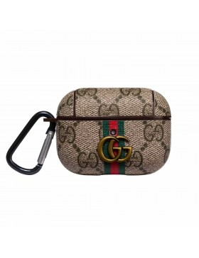 Gucci AirPods Pro Case GG Protective Cover Brown