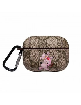 Gucci AirPods Pro Cases Protective Cover Pig Brown
