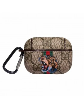 Gucci AirPods Pro Case Protective Cover Ribbons Tiger Brown