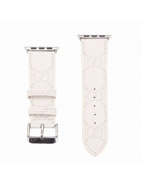 Gucci Apple Watch Band iWatch Strap Classic White