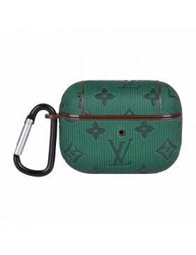 Louis Vuitton AirPods & AirPods Pro Case Skin Protective Cover Colorful Dark Green