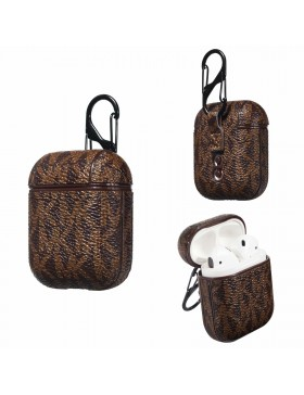 Michael Kors AirPods & AirPods Pro Case Skin Protective Cover Brown
