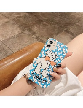 Burberry iPhone Cases Bear Soft Cover London