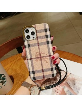 Burberry iPhone Case Plating Skin Cover