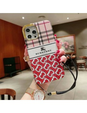 Burberry iPhone Case Plating Red Skin Cover