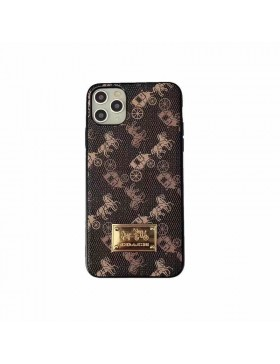 Designer Coach iPhone Case Brand Back Cover (3 Colors)