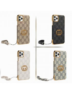 Gucci iPhone Plating GG Case Skin Cover