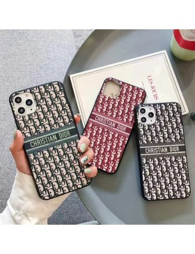 Dior iPhone 11 12 Pro Max Case Back Cover