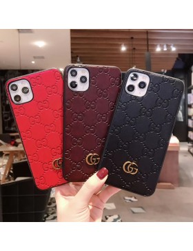 Gucci iPhone Case Embossing GG Cover