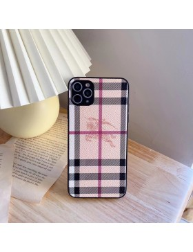 Burberry iPhone 11 / 12 13 Pro Max Case Back Cover