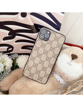 Gucci iPhone 11 12 Pro Max Case Back Cover