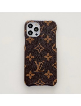 Louis Vuitton iPhone Case Three Side Protective Cover Monogram Canvas