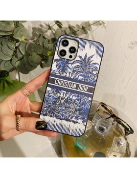 Christian Dior iPhone Case Coconut Palm Back Cover