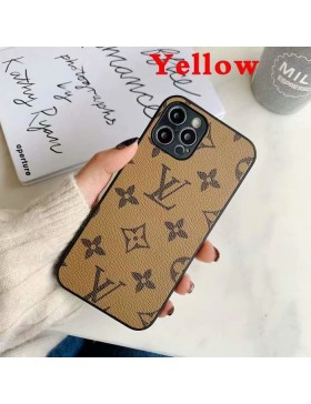 Louis Vuitton Galaxy S21 / S21 Plus / S21 Ultra Case Back Cover Yellow