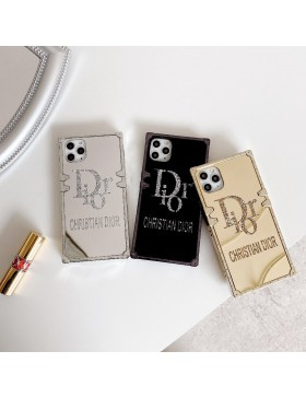 Bling Dior iPhone Eye Trunk Case Plating Mirror Tpu Cover