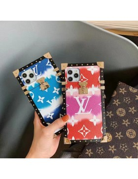 Louis Vuitton Eye Trunk Case Colorful For iPhone 11 12 Pro Max