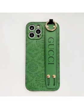 Gucci iPhone 11 12 Pro Max Case Full Protection Belt Skin Back Cover