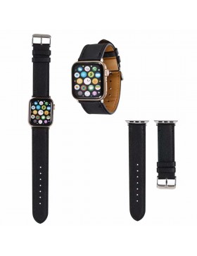 Prada Apple Watch Band Strap Black With Connector