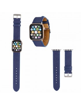Prada Apple Watch Band Strap Blue With Connectors
