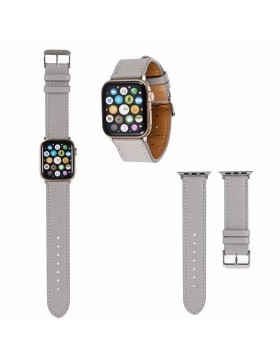 Prada Apple Watch Band Strap Gray With Connector