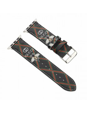 Gucci Apple Watch Band iWatch Strap Bee Black