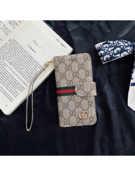 Gucci Galaxy Crazy Horse Leather Wallet Case