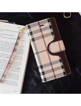 Burberry Galaxy S21 / S21 Plus / S21 Ultra Leather Wallet Case