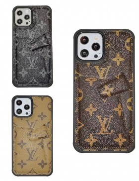 Louis Vuitton iPhone Card Holder Case Stand Cover