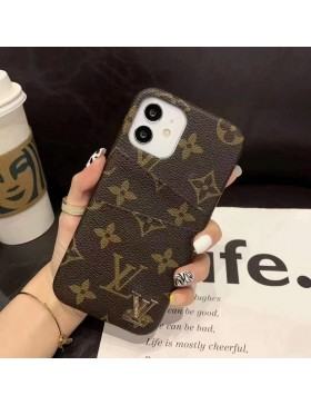 Louis Vuitton iPhone Credit Card Case Back Cover