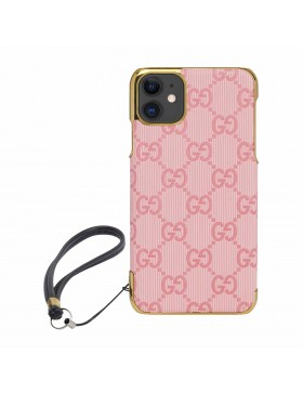 Gucci iPhone Case Colorful Cover Pink