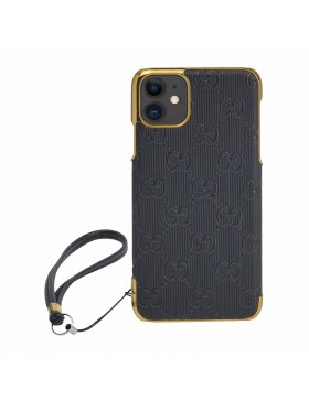 Gucci iPhone Case Colorful Cover Black