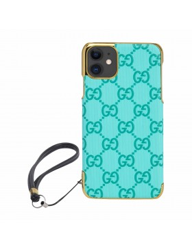 Gucci iPhone Case Colorful Cover Blue