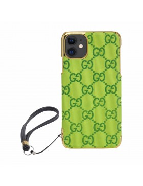 Gucci iPhone Case Colorful Cover Green Bud