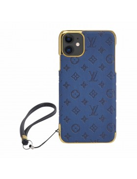 Louis Vuitton iPhone Case Colorful Cover Navy