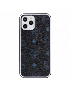 MCM iPhone Case Hard Shell Cover Black