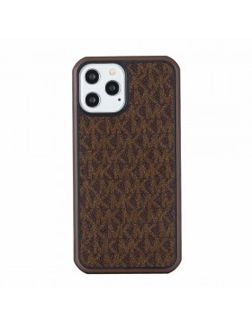 Michael Kors iPhone Case Hard Shell Cover Brown