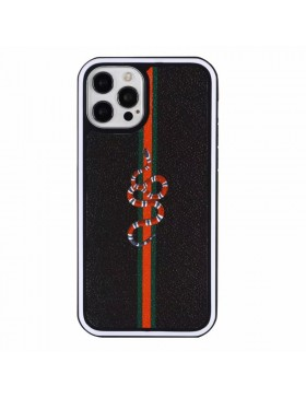 Gucci iPhone Case Hard Shell Cover Snake Black Skin