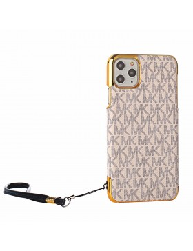 Michael Kors iPhone Case Plating Skin Cover White