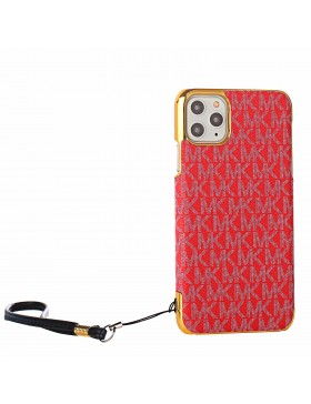 Michael Kors iPhone Case Plating Skin Cover Red