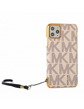 MK iPhone XS MAX / XR /XS / X Case Plating Skin Cover Apricot