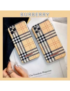 Burberry iPhone 11 12 13 Series Case Full Protection Cover