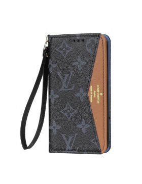 Louis Vuitton iPhone Wallet Case Brown V Stand Cover Eclipse