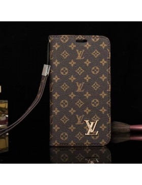 Louis Vuitton Phone Leather Case Monogram Brown For iPhone