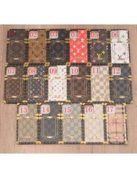 Louis Vuitton Gucci Burberry Eye Trunk iPhone Case Stand Cover