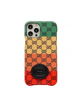 Gucci iPhone Case Colorful Slim Cover